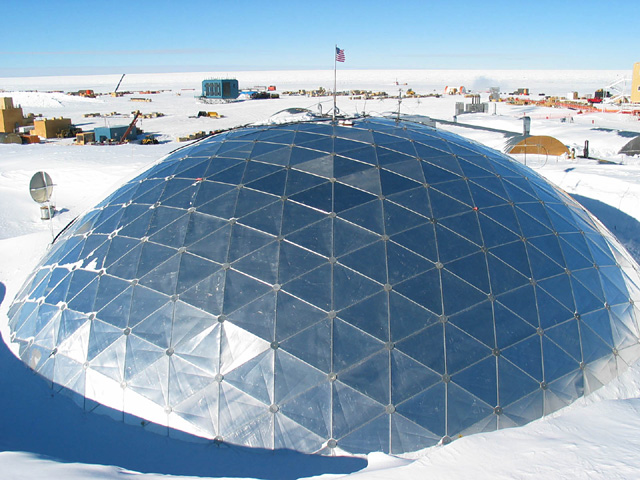 Origin of the Geodesic Dome