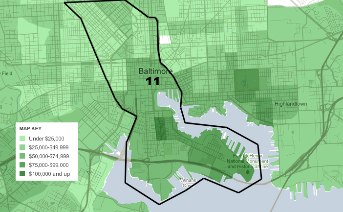 Your New City Council Districts Or Baltimore Loves