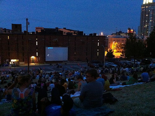2011 Flicks on the hill schedule, for your consumption