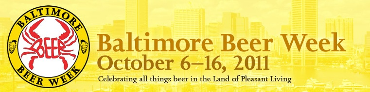 Baltimore Beer Week 2011 opening tap celebration – get yer tickets now