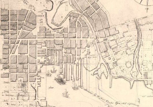 Folie's Map of Baltimore and Environs (1792)