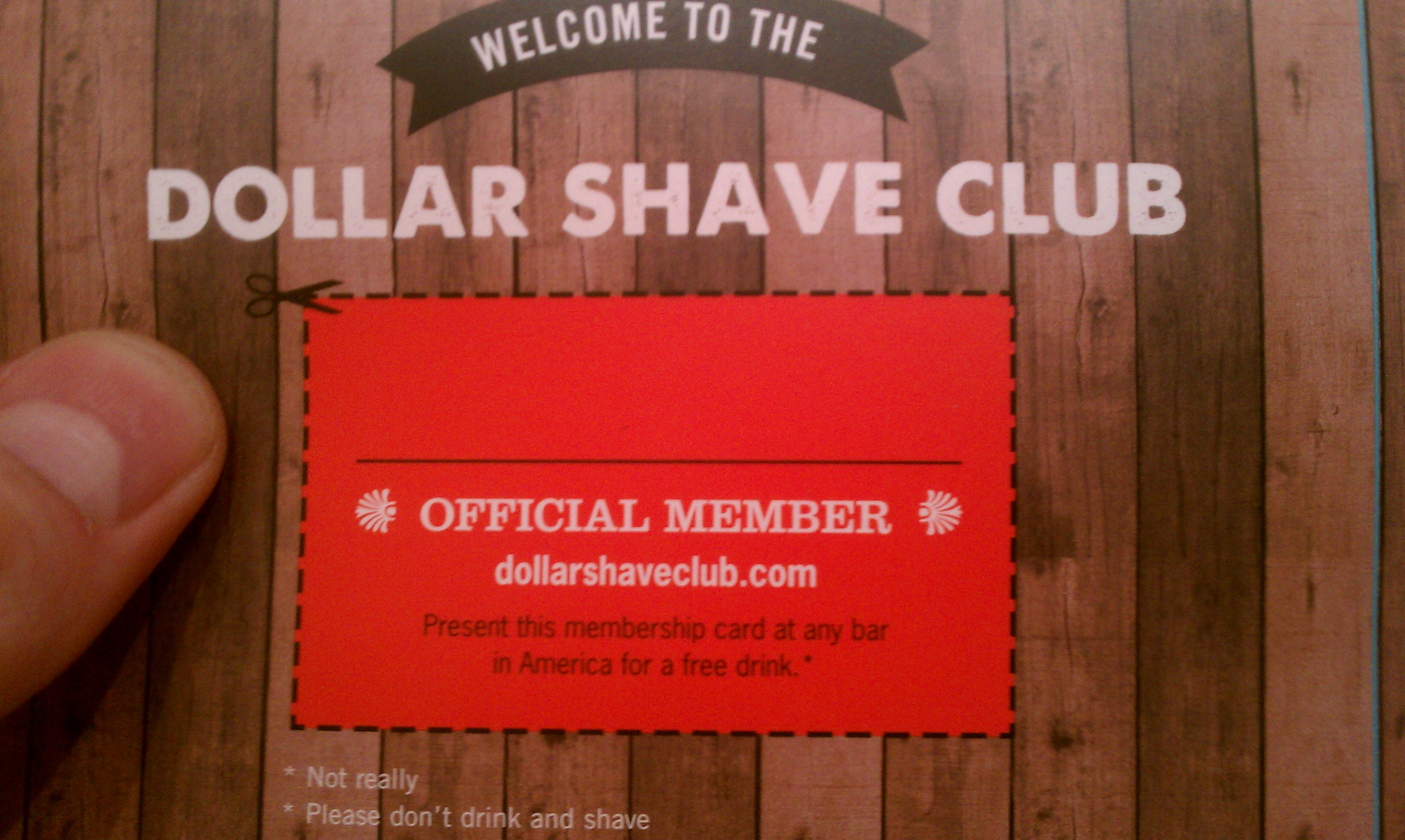 HOLY SHIT THAT'S AWESOME! A review of Dollar Shave Club