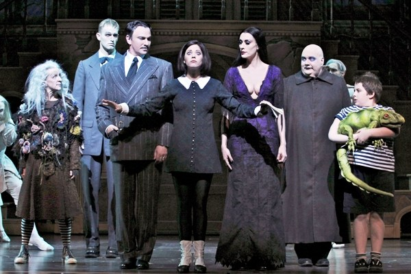 Review: The Addams Family at the Hippodrome