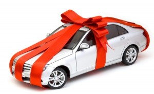 "Nothing says ""I'm glad Jesus was born like adding a monthly car payment to your beloved's budget."