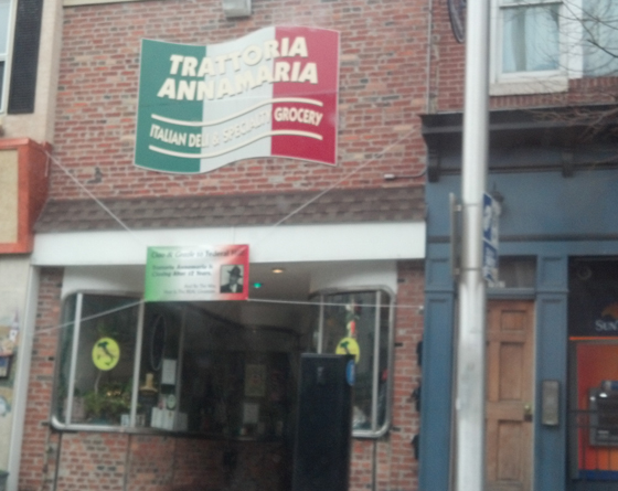 Trattoria Anamaria closing