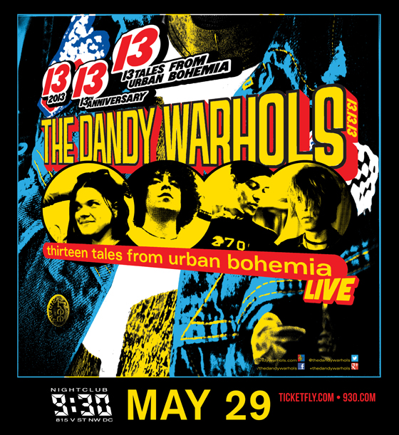 The Great Dandy Warhols Giveaway Winner