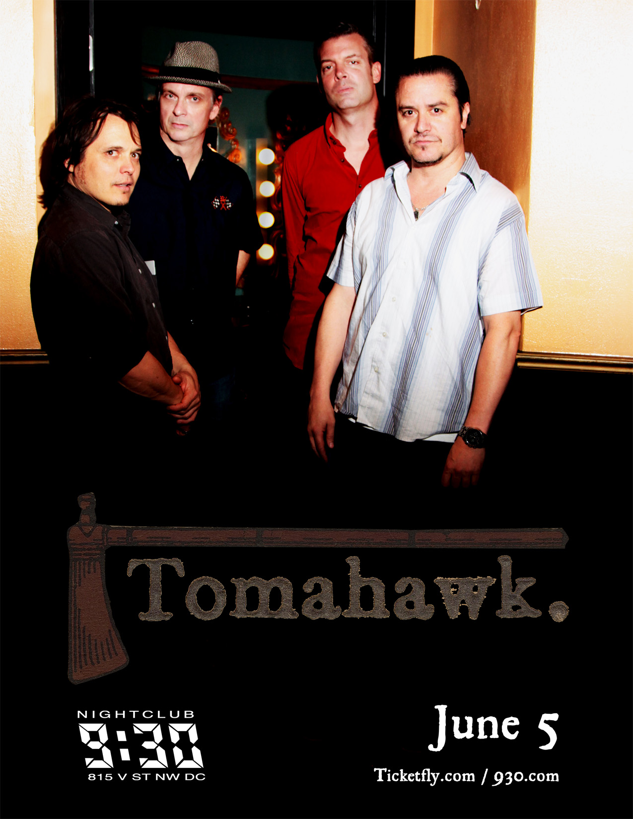Upcoming Shows and Tomahawk Giveaway!