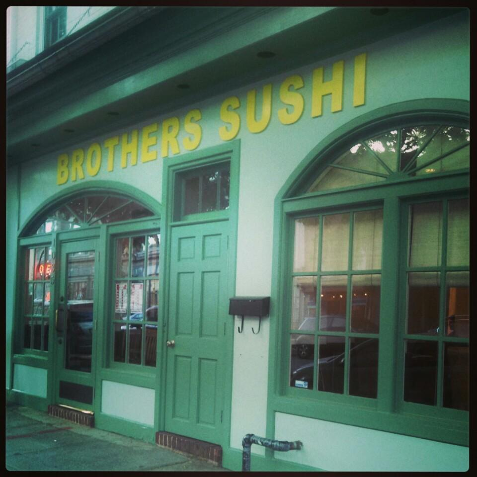 Brothers Sushi: First Impressions