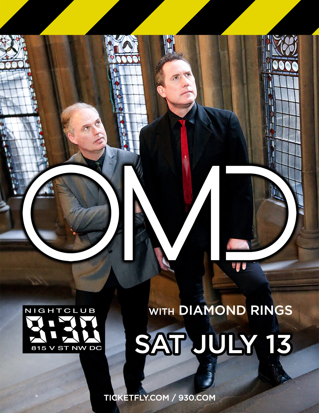 OMD with Diamond Rings Giveaway!