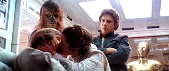 In a galaxy far, far away, even brothers get Friend Zoned by their sisters.  Eww.