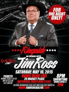 The City That Chats: Jim Ross!